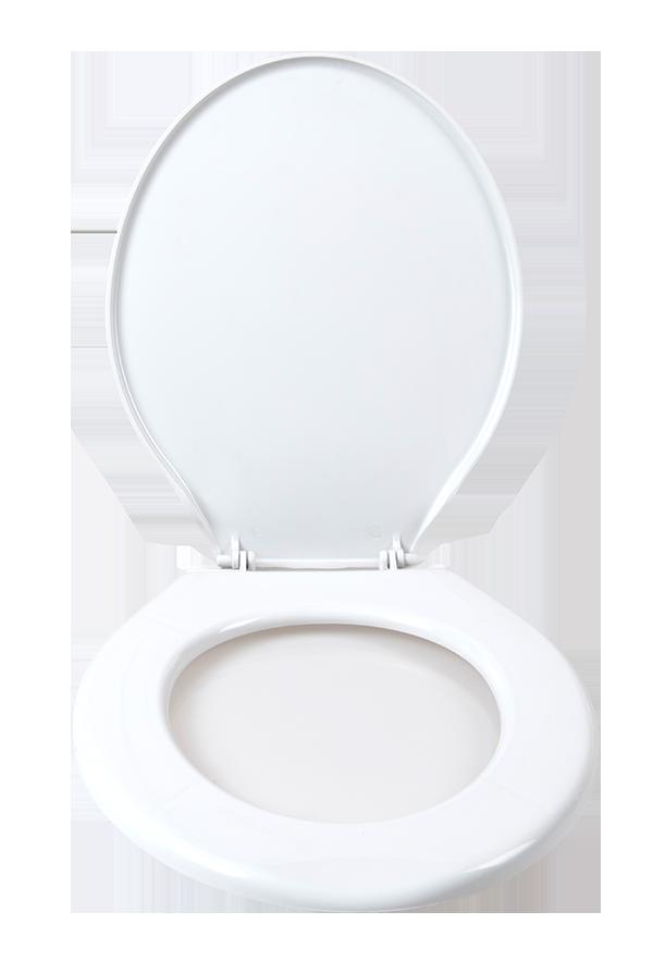 White plastic seat