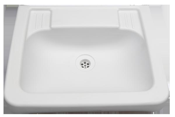 Plastic hand basin